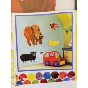 New! Eric Carle Brown Bear Wall Decal Stickers